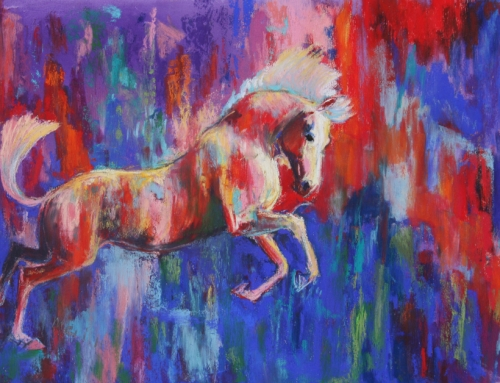 Leaping Painting Pony II