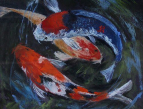"""Three Small Koi"""