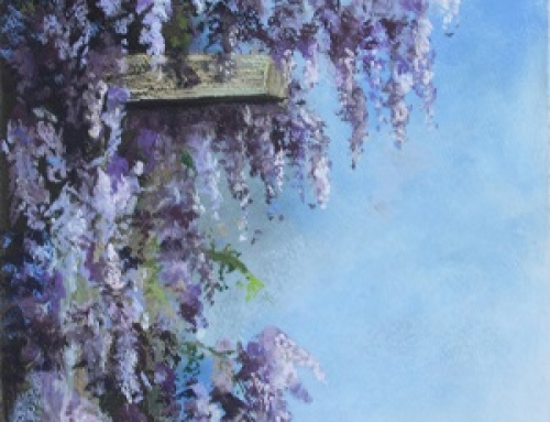 Wisteria in Bloom I
