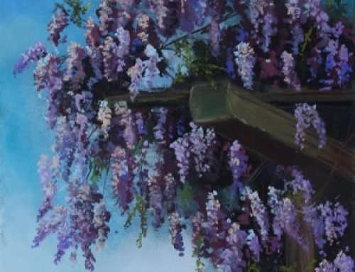 Wisteria In Bloom II