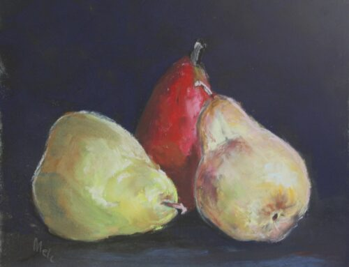 One Red Pear Two Golden Pears