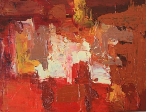 Abstract – Orange, Red, Indian Red and Yellow