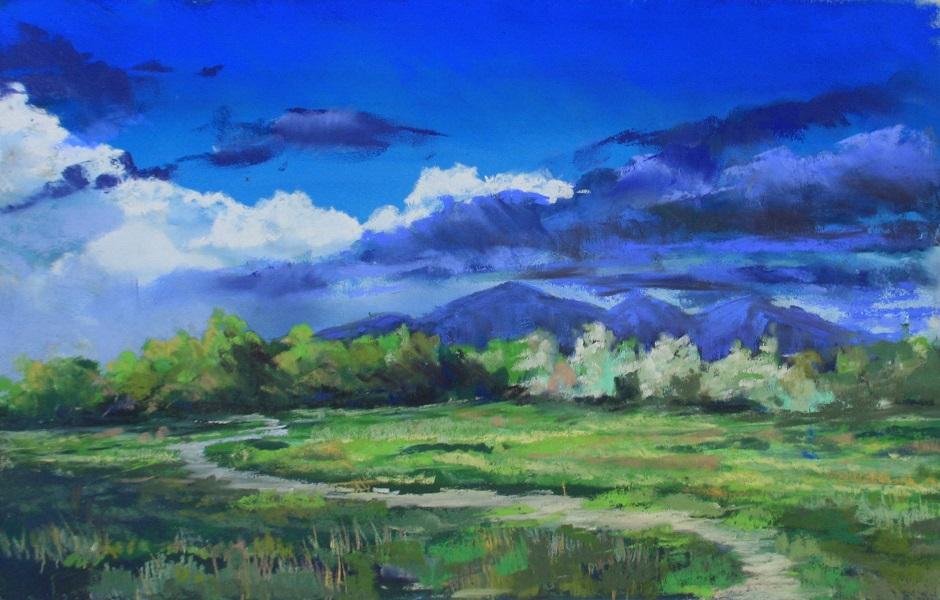 Lehi Field Spring Shadows