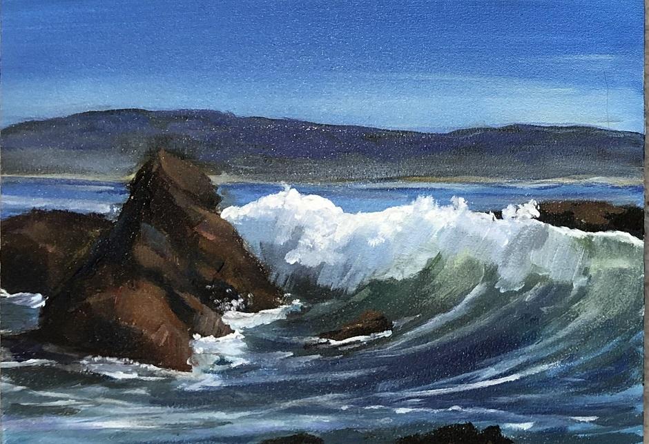 Crashing Wave Lampton State Park Area